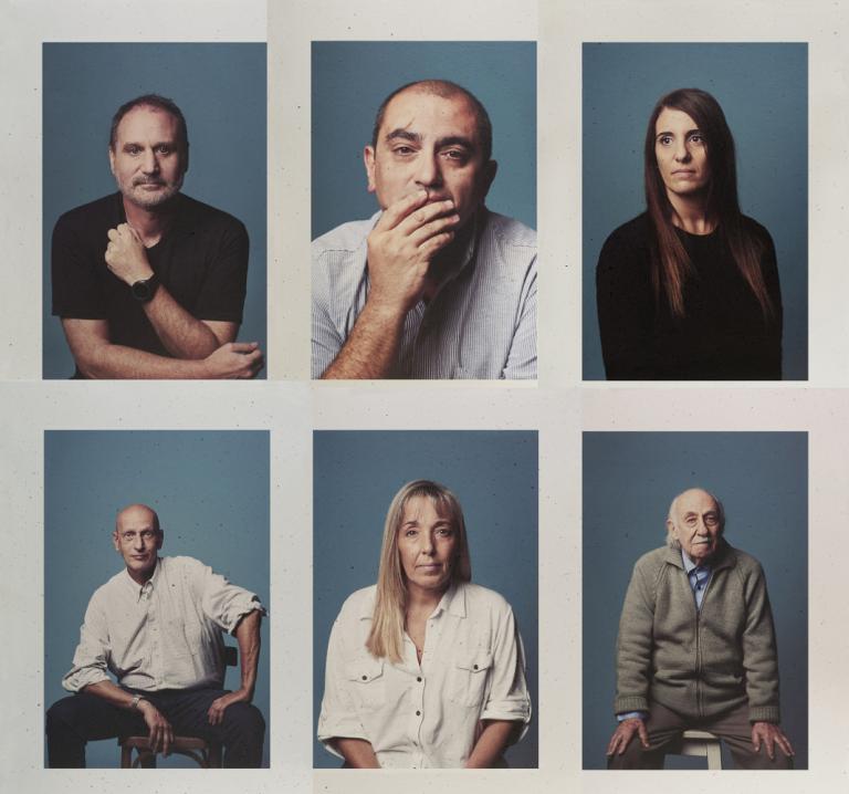 Ese Día - Retratos de víctimas sobrevivientes del atentado a la AMIA. Fotografías de Alejandra López