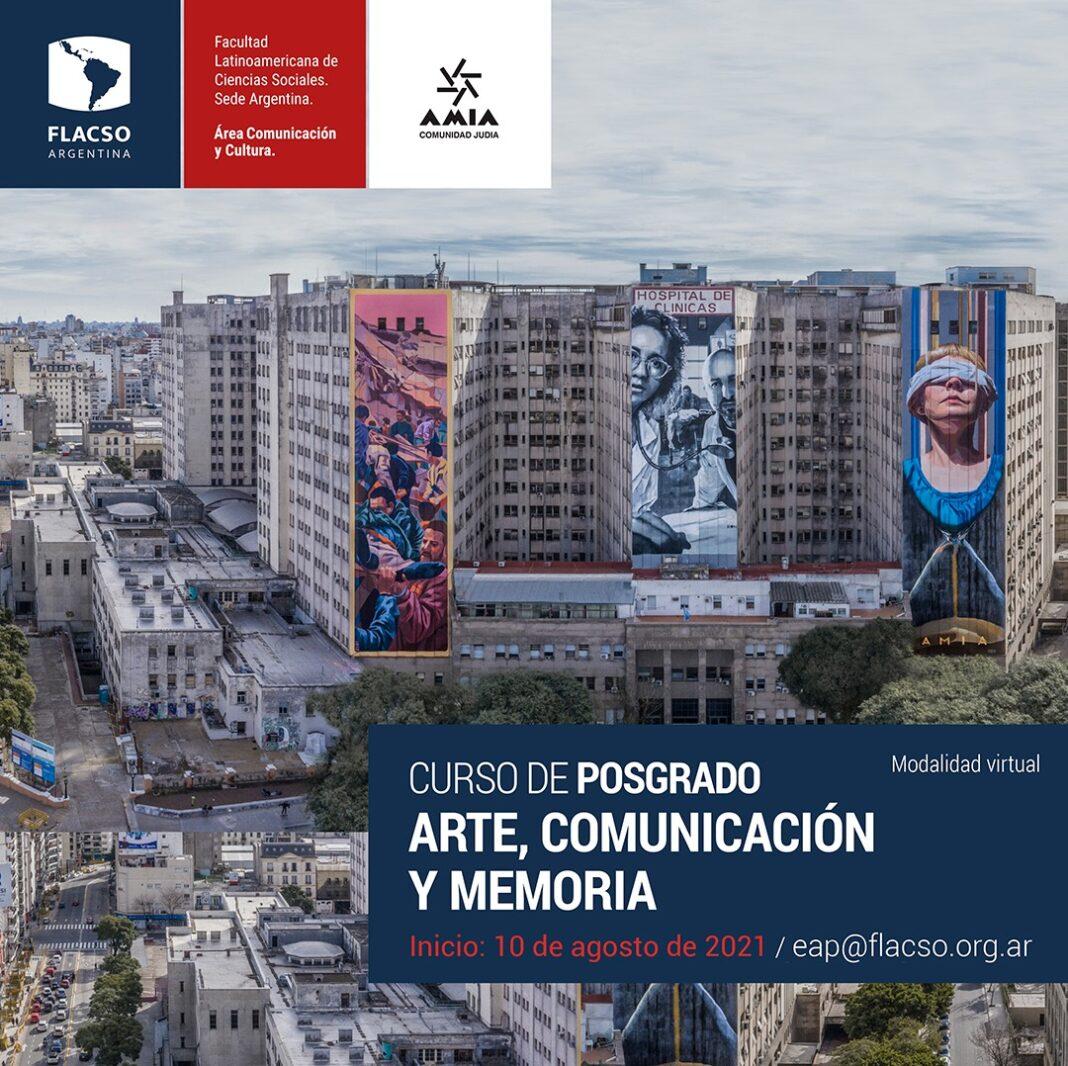 """Posgrado FLACSO-AMIA de """"Arte, Comunicación y Memoria"""""""